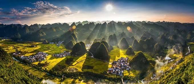 世外桃源地:兴义,唯有此处成峰林