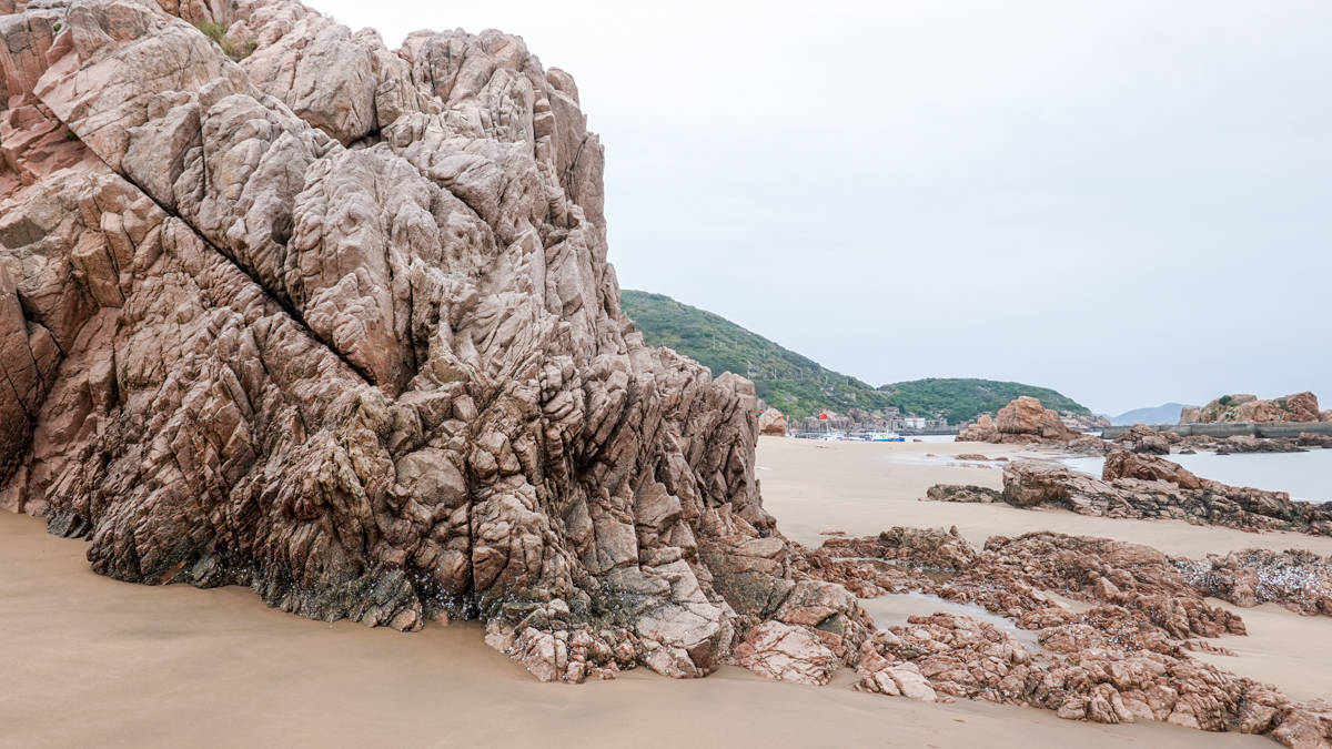 嵊泗三大沙滩之一,罗晋、谭松韵也来这里拍电影,快去打卡吧