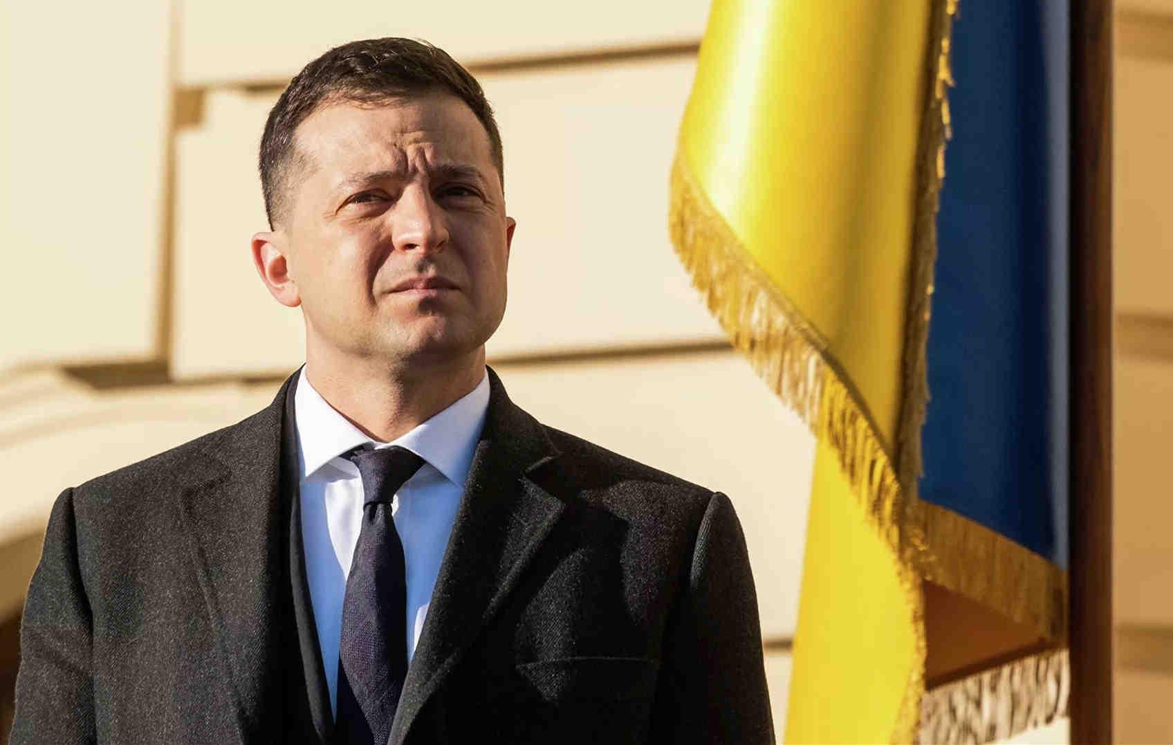 """泽连斯基:对乌克兰而言,""""北溪2号""""将是自克里米亚之后的又一大打击"""