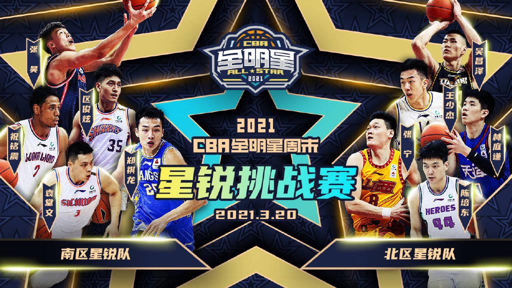 CBA全明星星锐赛名单公布 张镇麟张宁王少杰等人入选