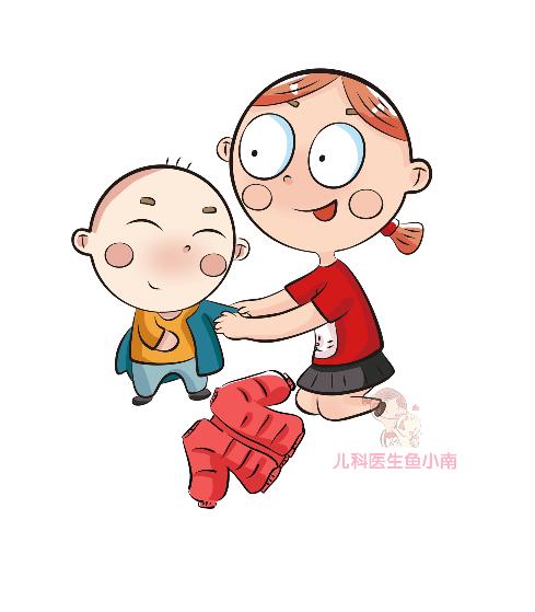 宝宝发烧,看这篇漫画就够啦!需要的都在这里,请收藏_体温