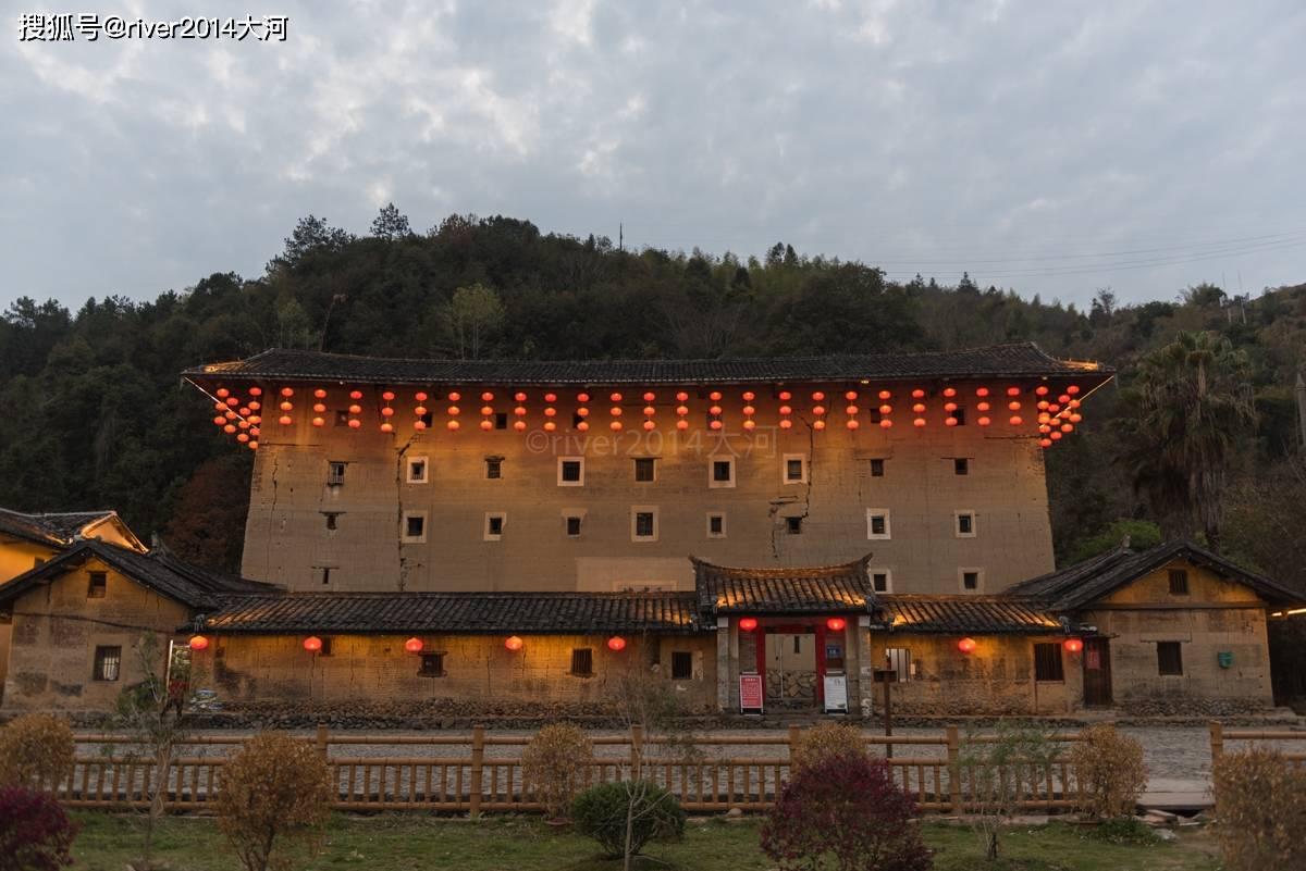 天悦官网平台原创 福建云水谣,因拍摄电影而改名,还保留了几十座土楼