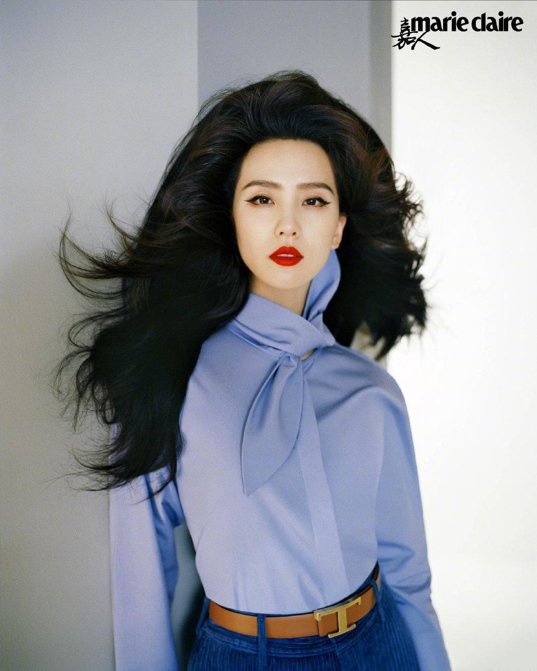 女明星们演绎50年代发型!杨武松娱乐幂怕露额头加刘海扮嫩,减龄功效显着