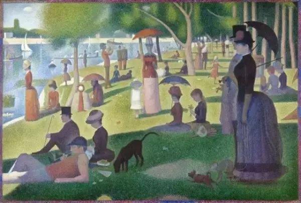 点彩画新印象主义代 表画家乔治·修拉逝世