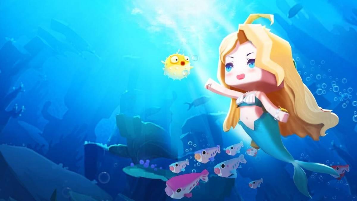 《迷你世界》营造童话风氛围:颜值高有特色的的人鱼公主爱丽丝公主哪款适合你?