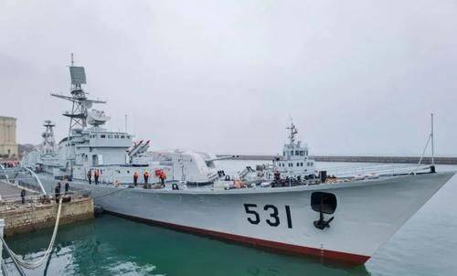 531鹰潭舰:南沙海战功勋舰修复一新,重归海军博物馆对外开放