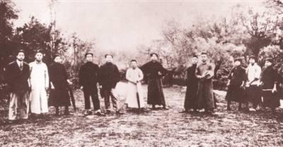 毛泽东在半淞园欢送新民学会赴法勤工俭学会员的往事