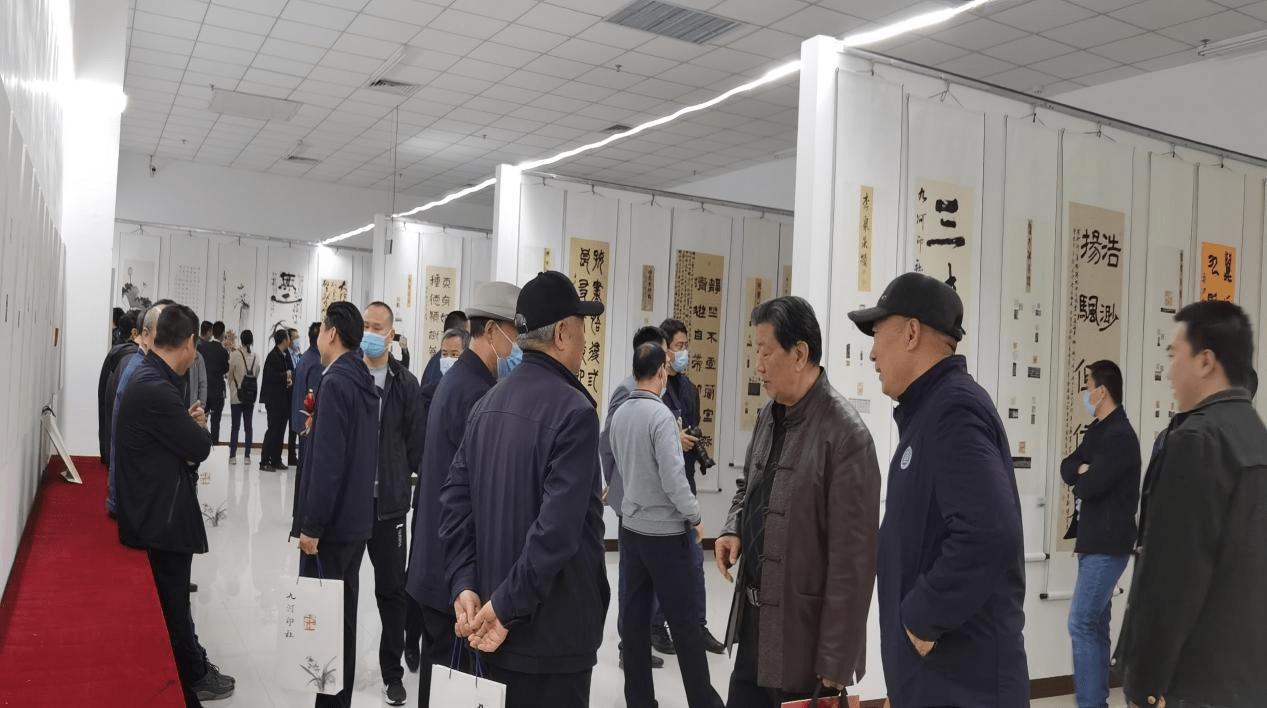 九河印社五周年社庆在宁晋晶龙博物馆举行