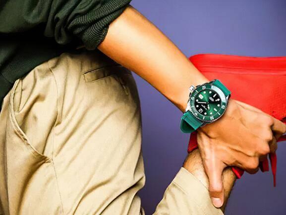 腕间时尚色彩冲突,看尼维达NIVADA全新绿水鬼魅力亮相