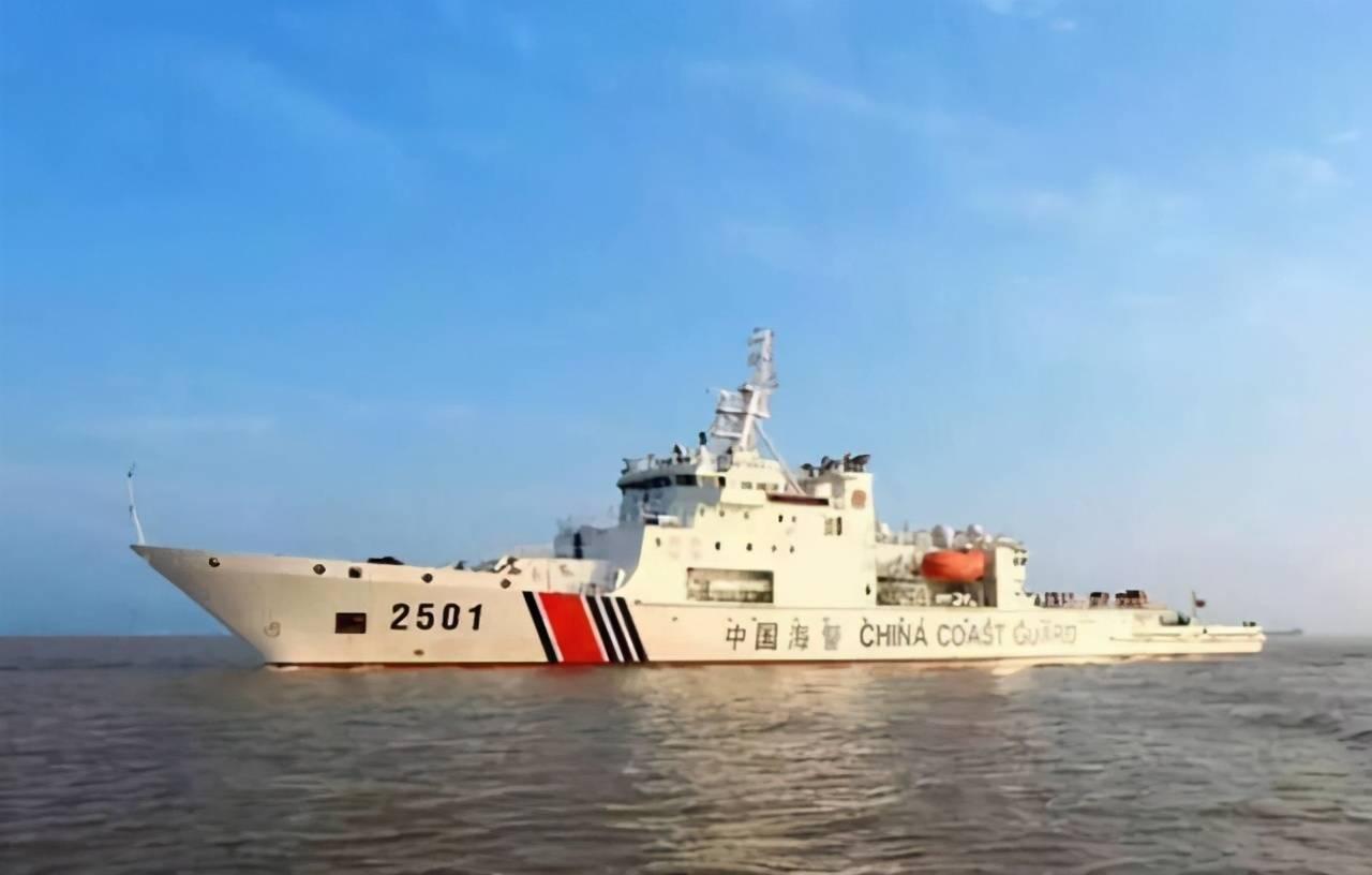 中国海警带炮巡钓鱼岛驱赶日本船!赵立坚:日方碰瓷