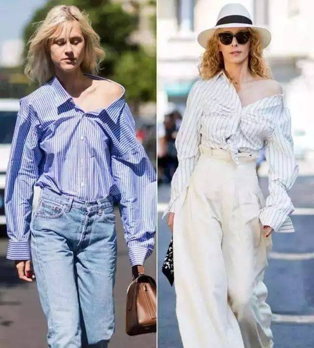 原创             春天,衬衫更时髦的打开方式:一衣多穿学起来,让你又美又潮