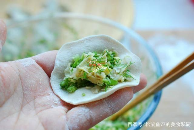 婆婆调素饺子馅有高招,味儿特鲜,肉馅没人吃,素馅全家抢