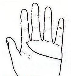 """秘传手相古相法精解:手相""""感情线""""、详细图文解析、值得收藏!  第9张"""