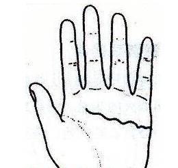 """秘传手相古相法精解:手相""""感情线""""、详细图文解析、值得收藏!  第33张"""