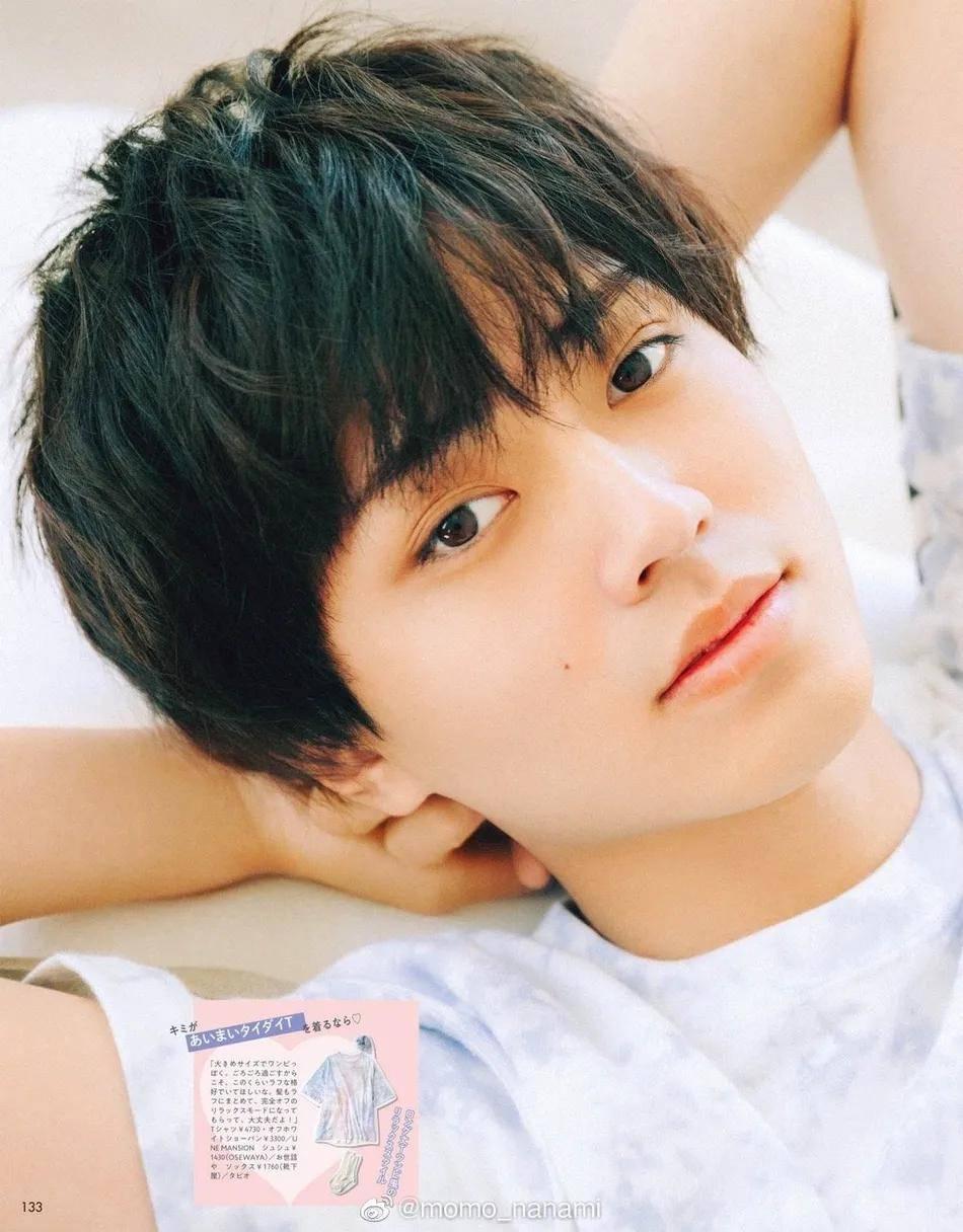 日本男星永濑廉拍写真太俊俏!阳光少年不愧是国宝级帅哥                                   图3