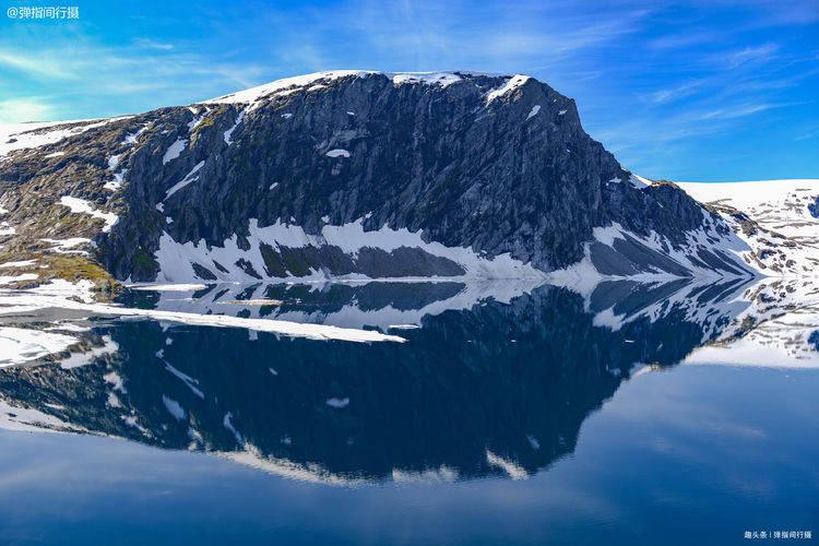 挪威绝美的高原湖泊,藏在峡湾之上,湖光山色宛如人间仙境