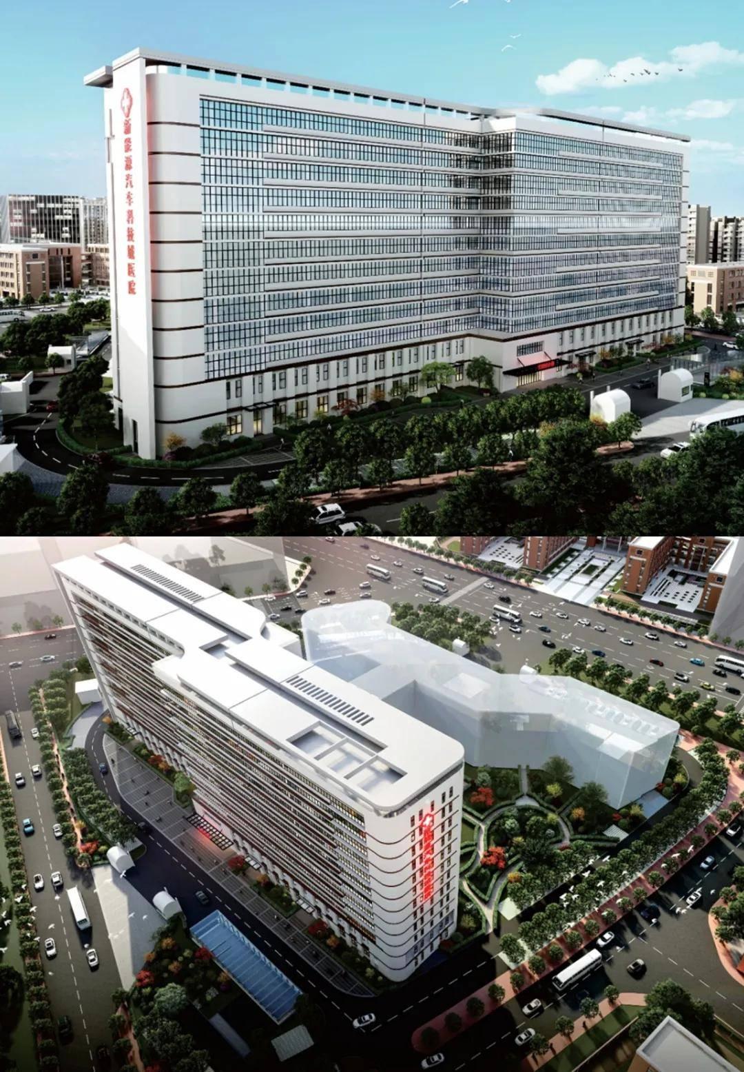 贛州經開區新建一座醫院,最新效果圖曝光