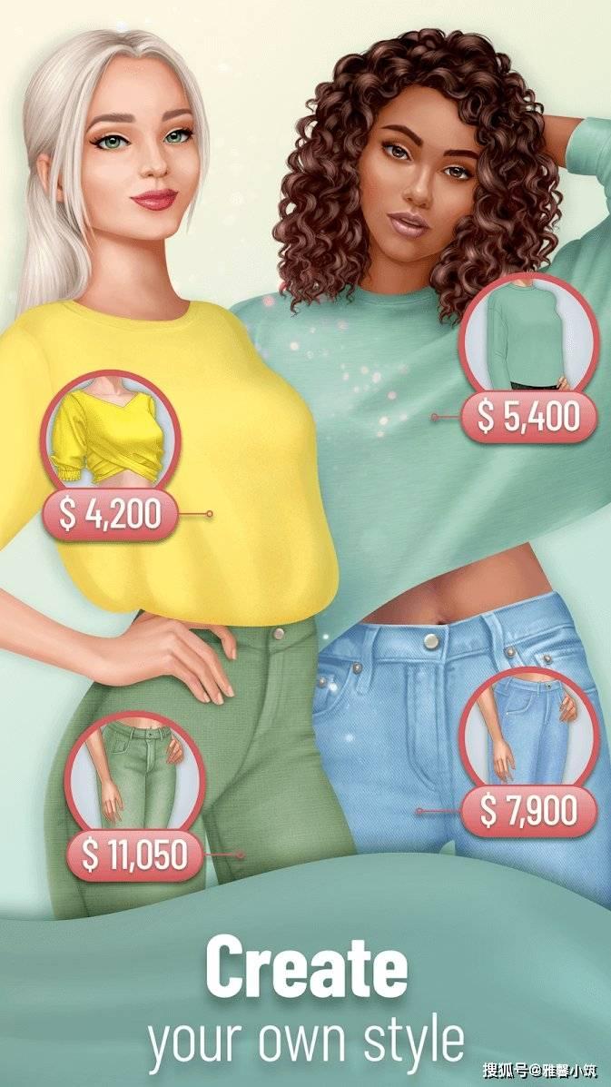 Nordcurrent女性换装手游《Pocket Styler》:从数万种服装中搭配出最适合用户造型