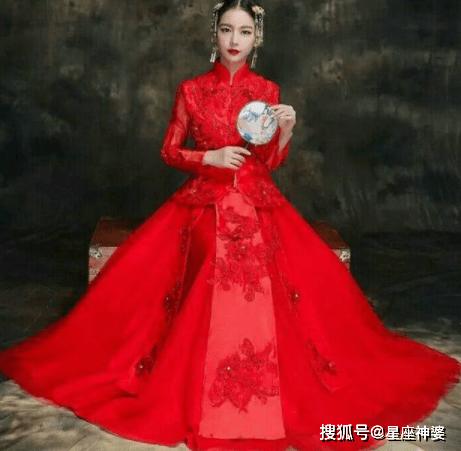 中国传统婚纱图片大全_中国传统纹样图案大全