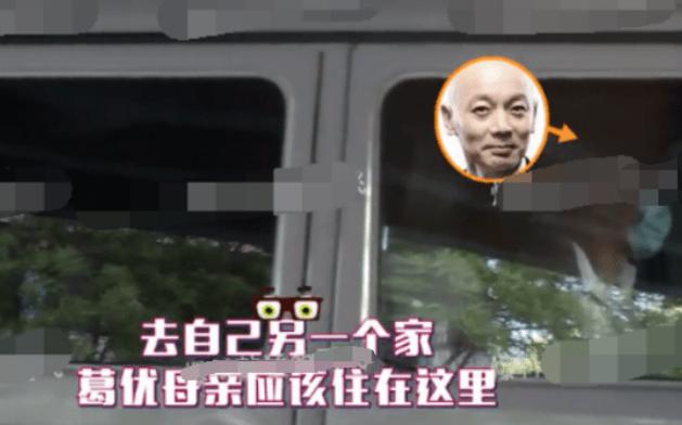 老年得子?葛优被曝开车接送三岁儿子,网友:说好的丁克呢                                   图3