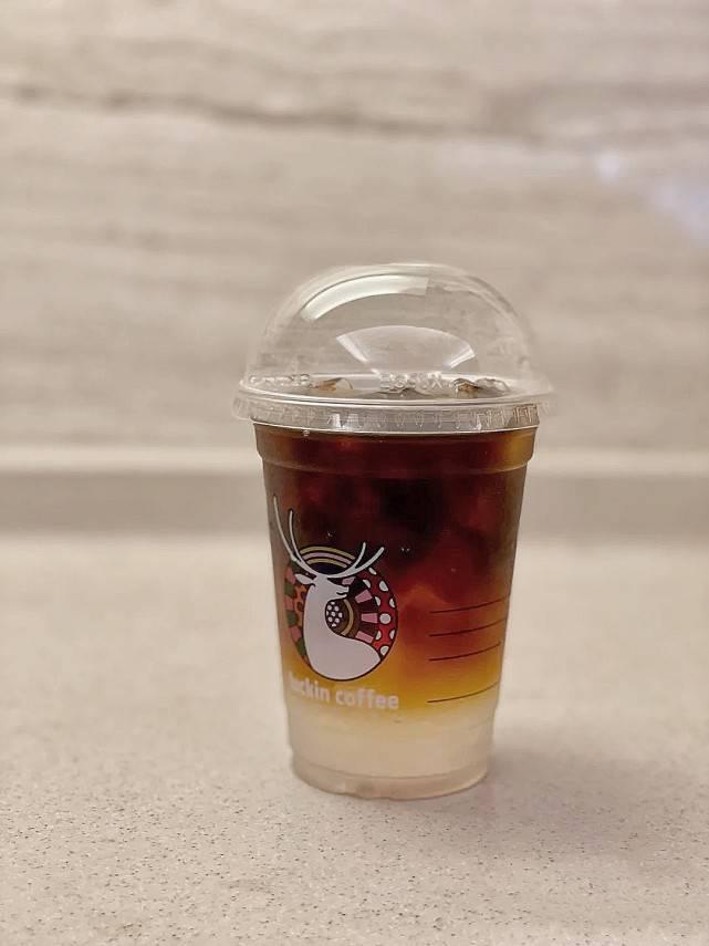 0脂椰青邂逅咖啡,瑞幸椰青冰萃咖啡,清爽健康