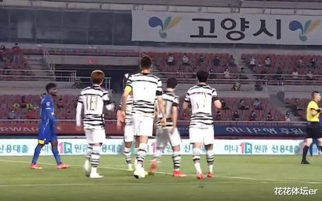 2-0!中超名将破门,韩国拒绝庆祝!进球后,站成一排缅怀名宿_韩国队