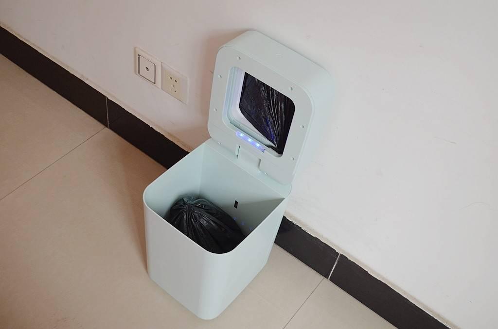 垃圾桶也能玩智慧?拓牛智慧垃圾桶T1使用感受