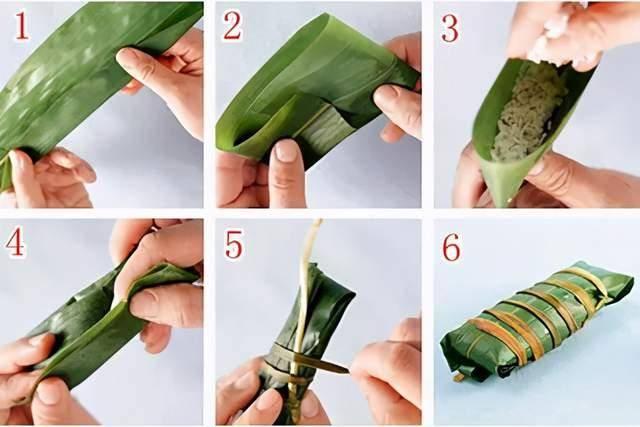 端午节快到了!教你几种包粽子的方法,圆的、扁的、四角的、锥形的  第5张