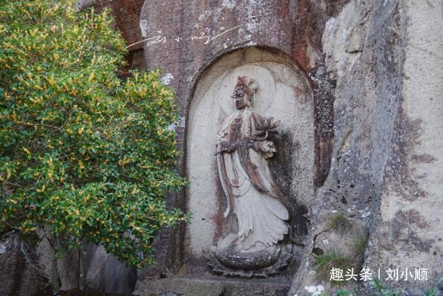 """浙江温岭""""最壮观""""的石雕观音壁,鬼斧神工,知道的游客却非常少"""