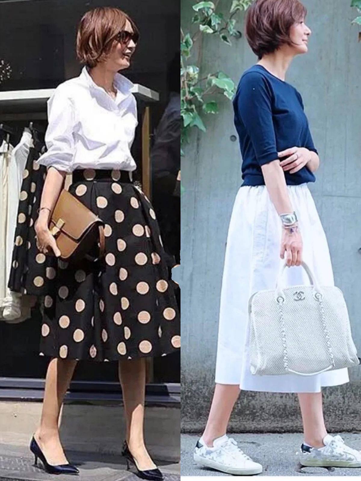 原创             日本52岁博主,为你道出穿衣精髓,这才是熟龄女人该有的夏日打扮
