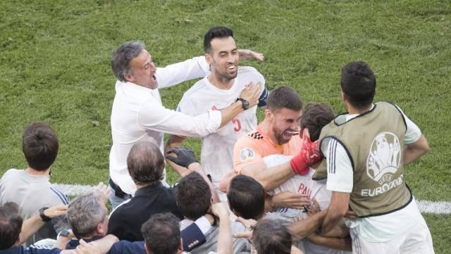 梁宏业:欧洲杯更佳角逐降生 莫拉塔拯救西班牙