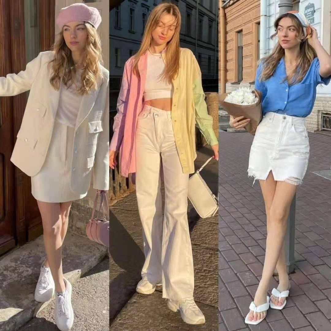 夏天怎樣穿好「色彩」?分享3個思路、27套示範,穿出色彩和時尚