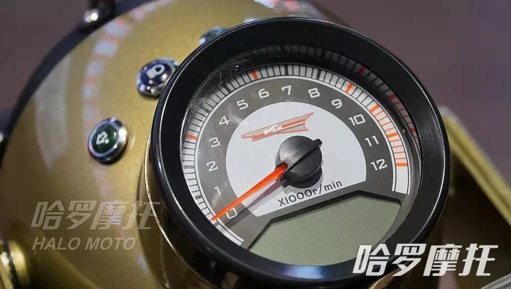 不怕沙暴的沙色摩托推薦(三)長江CJ650B