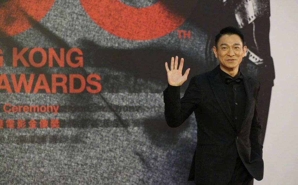 """57岁刘德华与姚晨合影 看不出真实年纪 依然是最帅的""""华仔"""" 爸爸 第7张"""