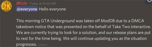 杉果日报:《GTA》Mod遭官方强制下架;分析称索尼缺席E3大错特错