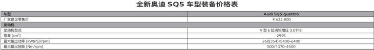 售63.28万元/百公里加速仅5.3秒奥迪SQ5提前上市moy