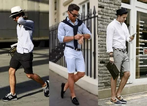 这样穿 短裤也能让你魅力爆发!
