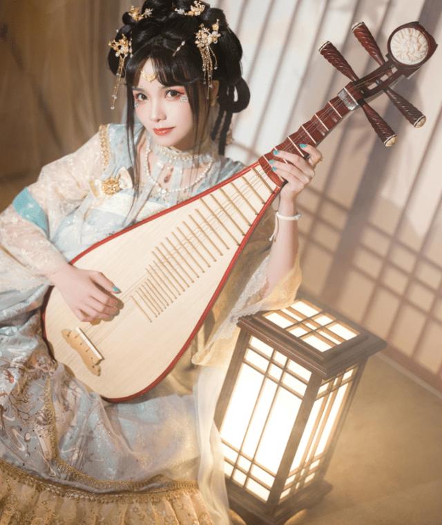 图片[3]-中国古风与洛丽塔的碰撞!顶级Lo娘谢安然实力演绎另类裙子,美如画-妖次元