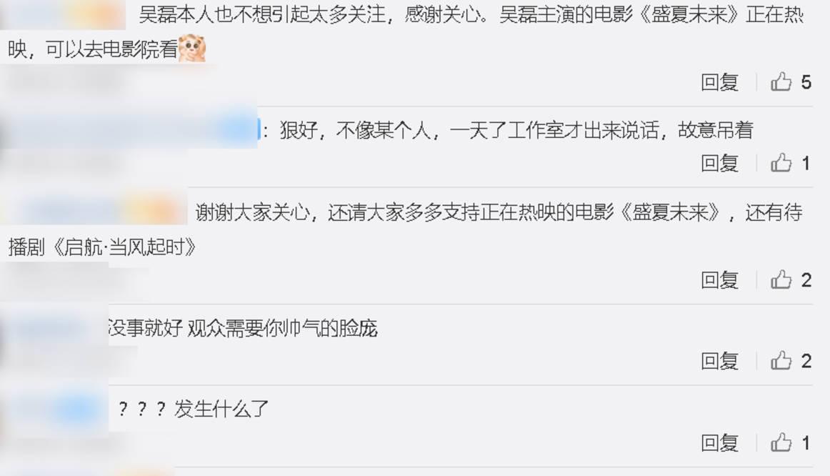 图片[9]-工作室称吴磊是小伤已无碍,演员拍戏受伤难免,故意营销不可取-番号都