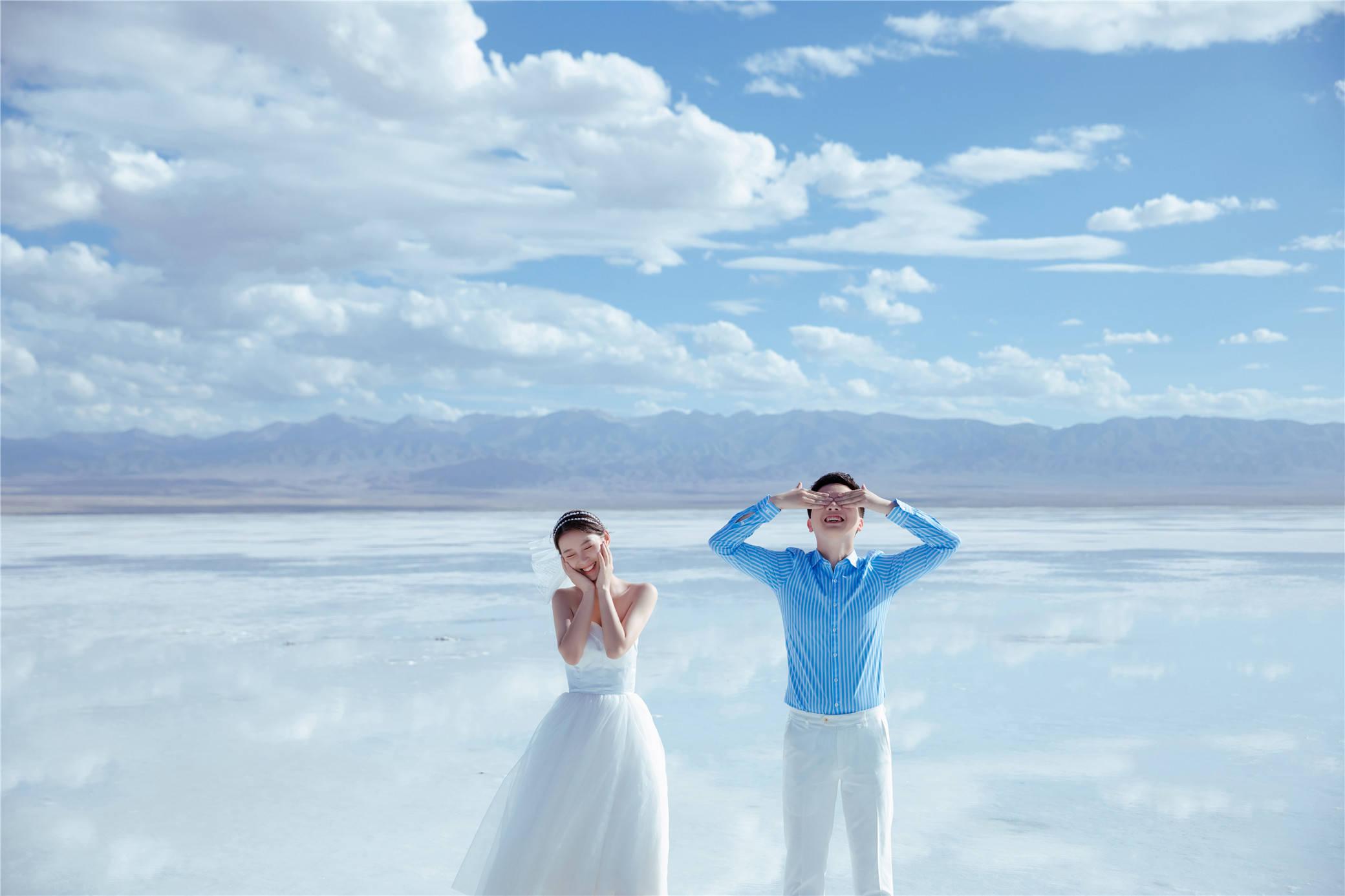 青海拍婚纱照_青海风景图片