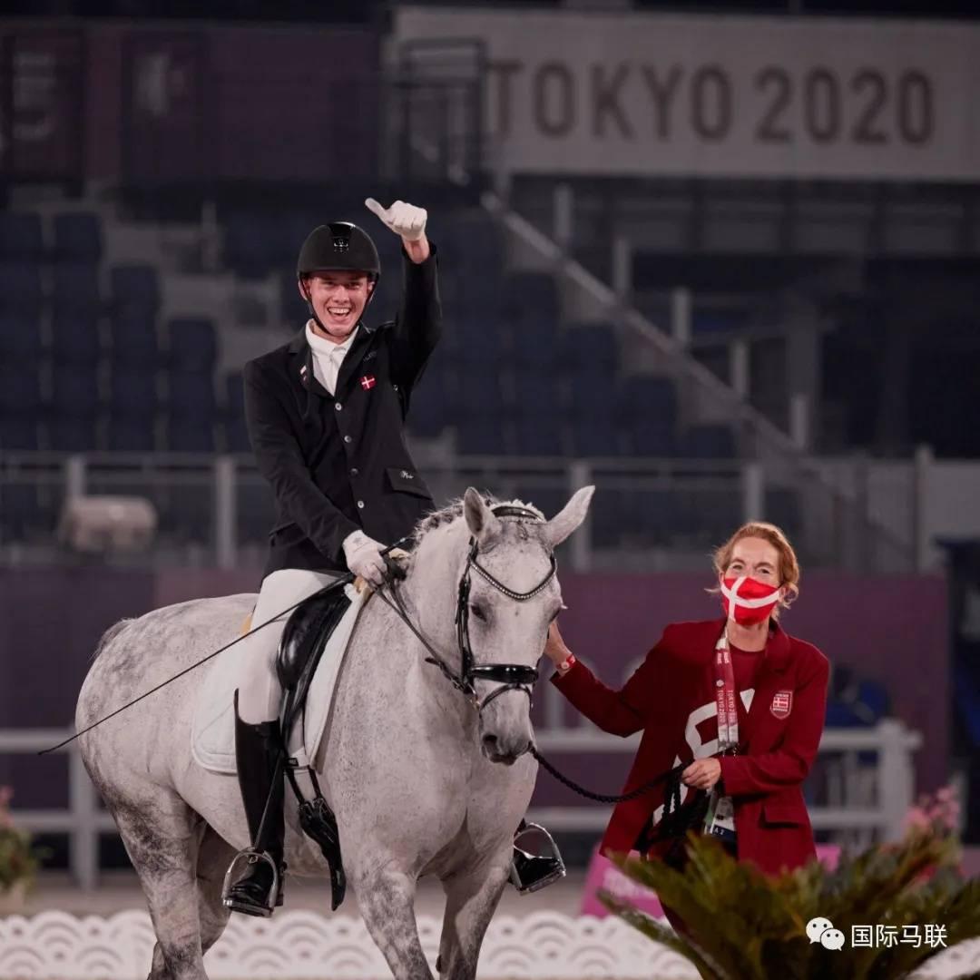 丹麦骑手夺得东京残奥会马术3级个人赛金牌