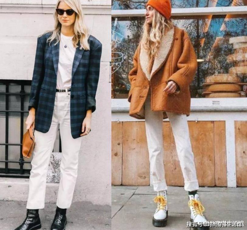 入秋后就别再露脚踝了,这样穿时髦显高又保暖,建议收藏