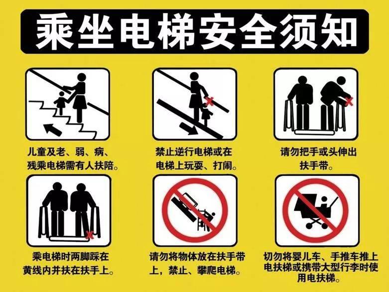 一月讲堂|你教会孩子如何正确乘坐自动扶梯了吗?