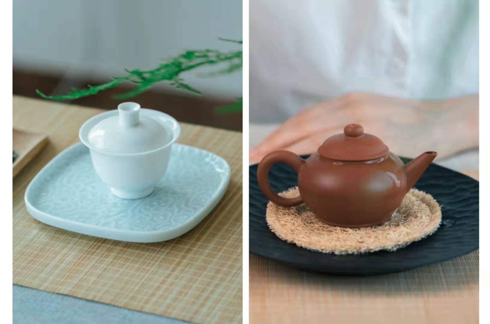 小喜年-紫砂泡茶香、盖碗易清洗,你们泡茶最爱用什么茶具?