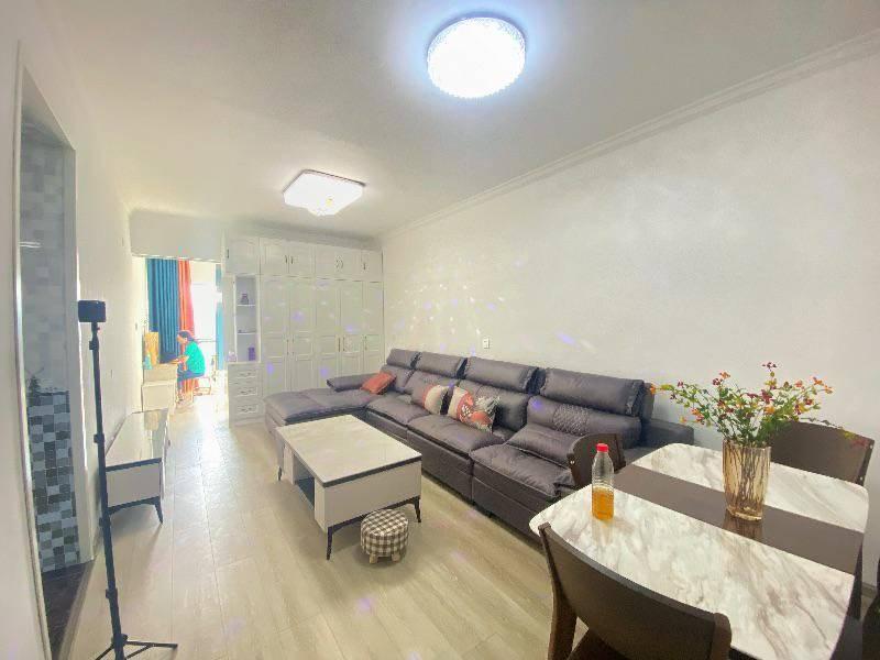 曲靖水岸雅苑,55平公寓房简约装修,纯净实用效果赞!