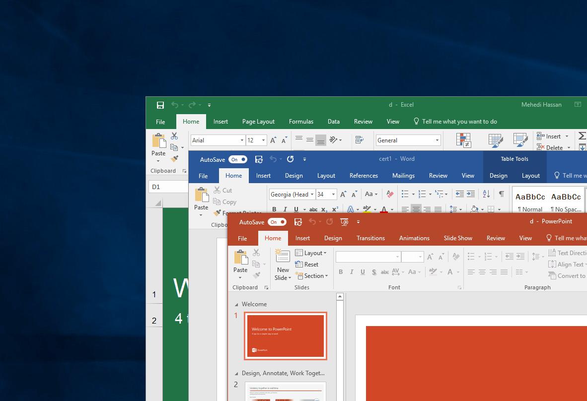 微軟Office Build 14527.20040 預覽版和Office 2021新功能