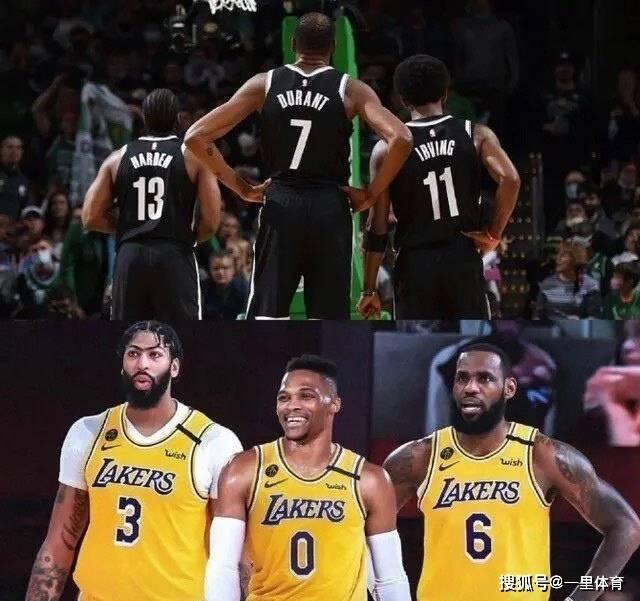 NBA季前赛,詹姆斯威少杜兰特哈登欧文皆缺阵,篮网大胜湖人