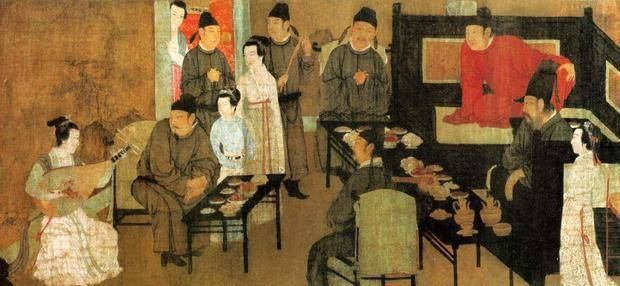 韩熙载夜宴图:奢华享乐的背后,隐藏着主人内心怎样的忧愁?