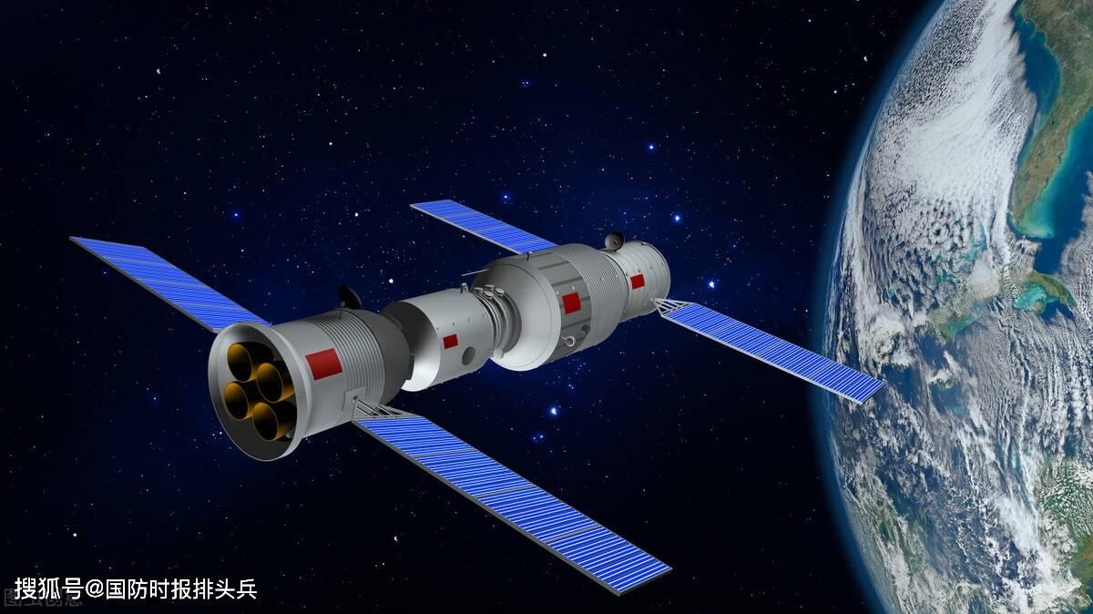 """看中国!中国空间站引发世界关注,美媒感叹:""""时代变了""""htl"""