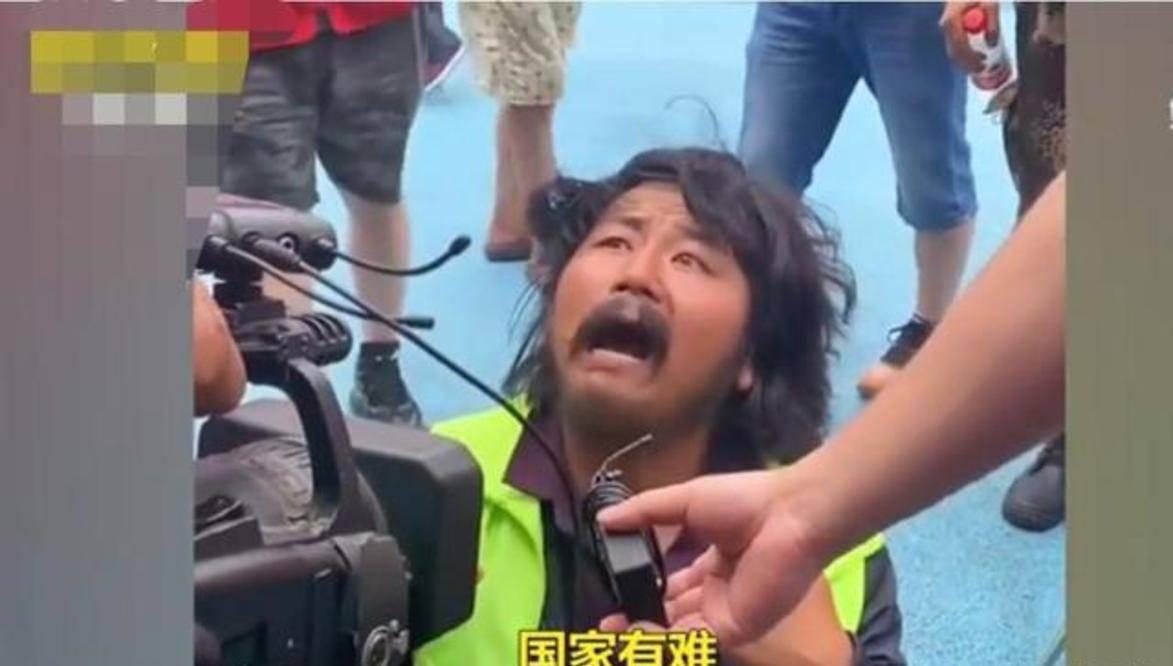 宁夏一名拾荒者向河南新乡捐两万元物资